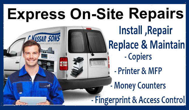 On-Site Service & Repairs